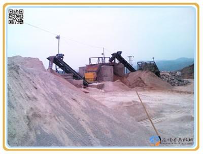 云南潞西常总ZCF60型制砂机生产现场