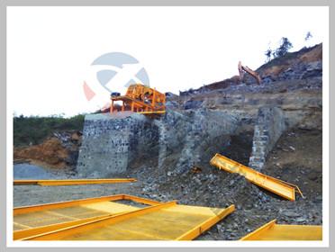 云南文山日产1000吨manbetx官网电脑版配平筛石料生产线