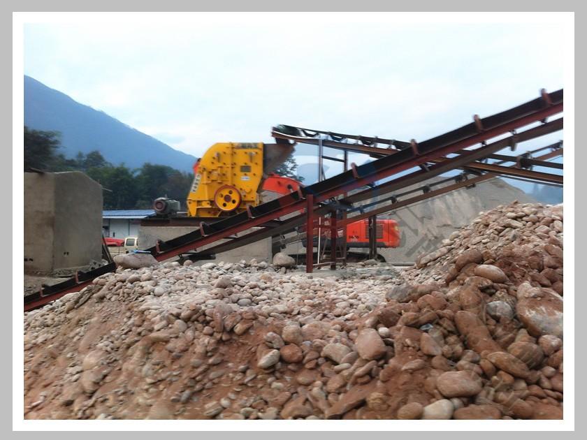 四川攀枝花日产800吨鹅卵石生产线
