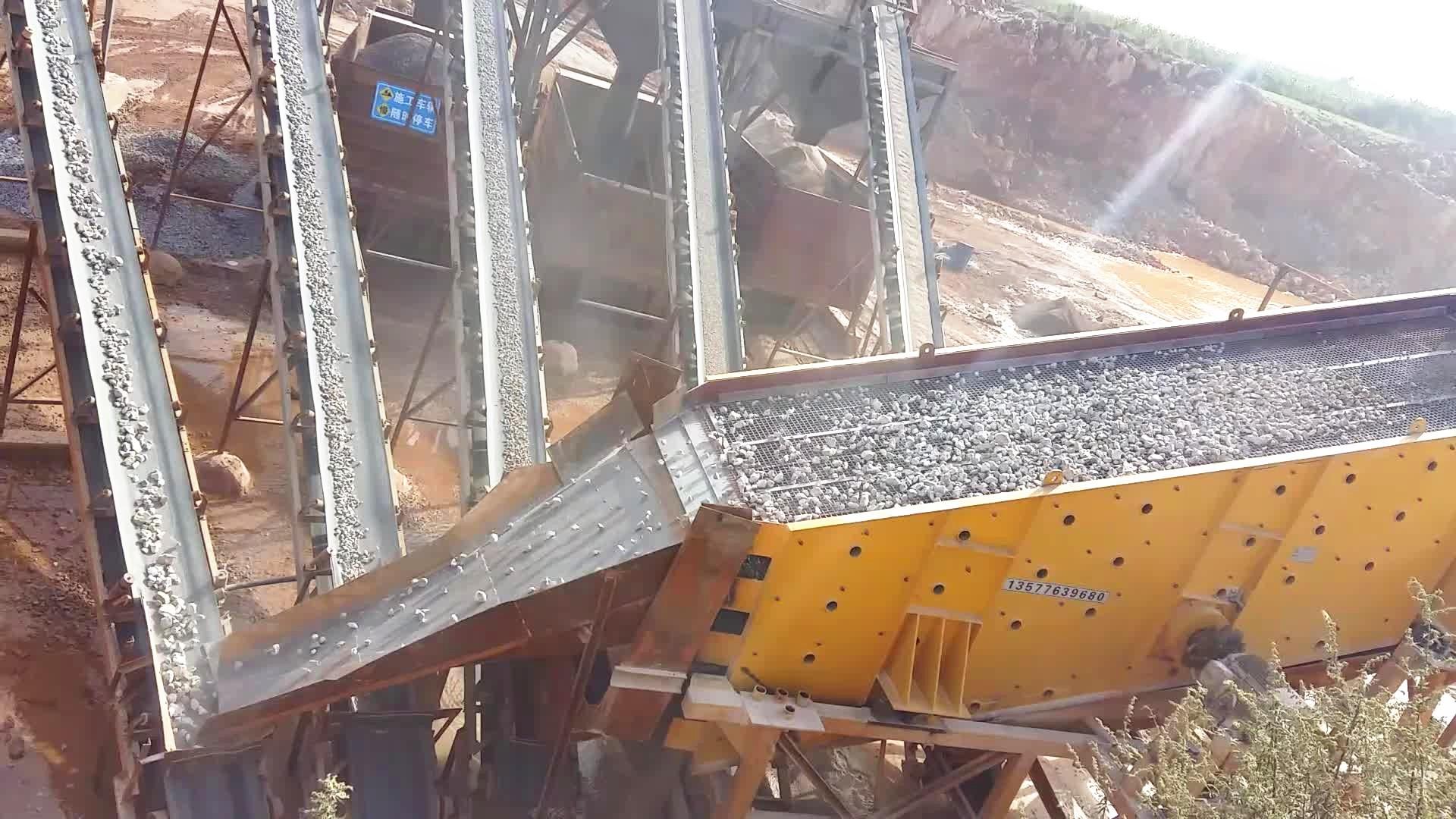 云南陆良日产3000吨manbetx官网电脑版石灰石生产线现场一