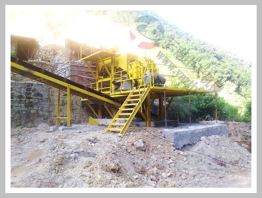 西双版纳包总1200吨砂岩制砂生产线