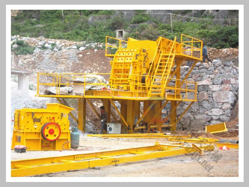广西林总日产1200吨石料生产线