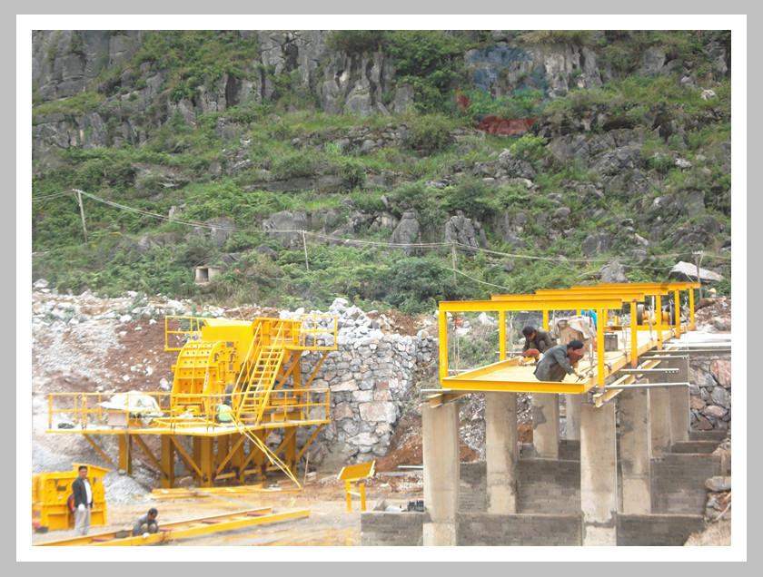日产1200吨石料生产线