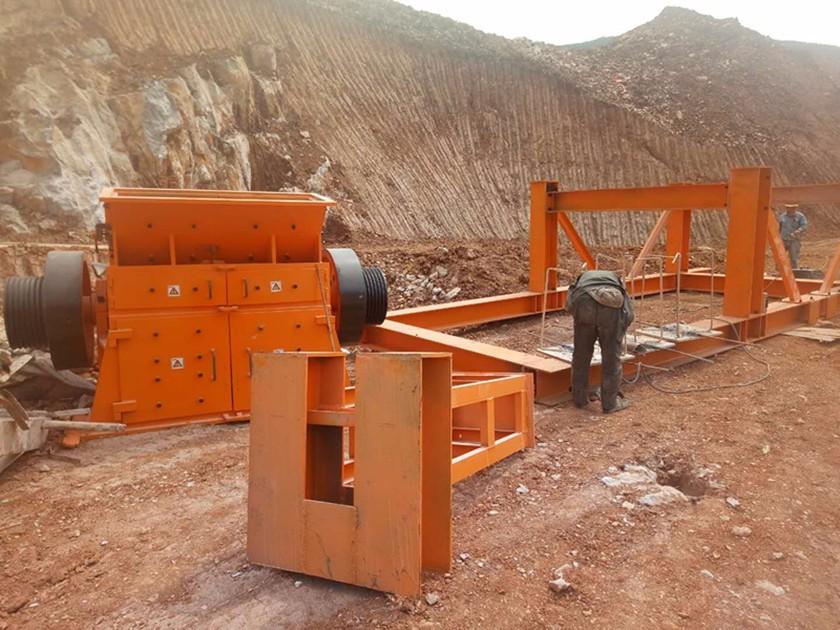 文山丘北孙总日产1100吨安装现场